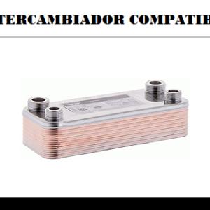 Intercambiadores de placas compatibles