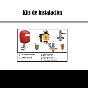 Kit instalación hidroestufas de leña