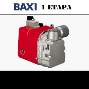 quemadores de 1 Etapa Baxi