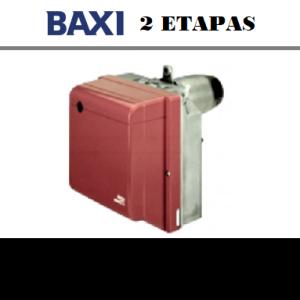 Quemadores baxi 2 ETAPAS