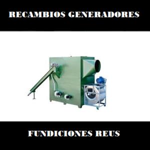 Repuestos generadores fundiciones Reus