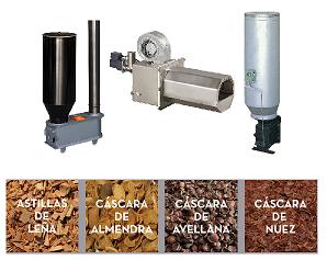 Artículos de biomasa policombustibles.